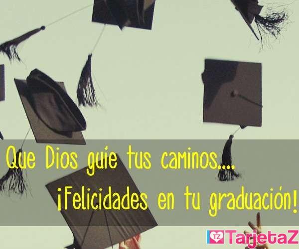 Dios guie - graduacion