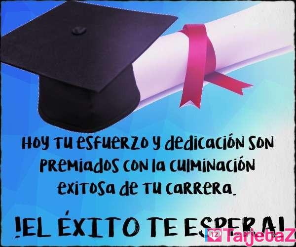 Exito graduacion