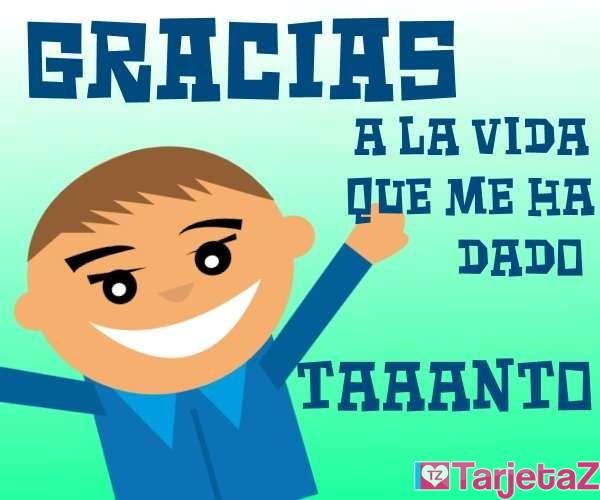 Gracias vida