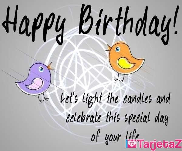 tarjetas cumpleanos ingles celebrate this special day