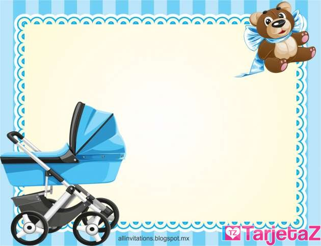 Tarjetas Para Baby Shower Niño Image Cabinets And Shower Mandra