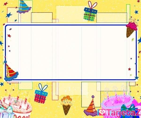 Tarjetas De Cumpleanos Para Imprimir Feliz Cumple - Hacer-tarjetas-de-cumpleaos