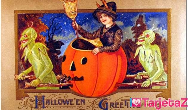 tarjeta de brujas