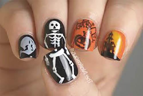 como pintarse en halloween