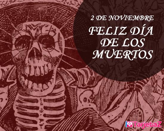 Tarjetas del dia de muertos