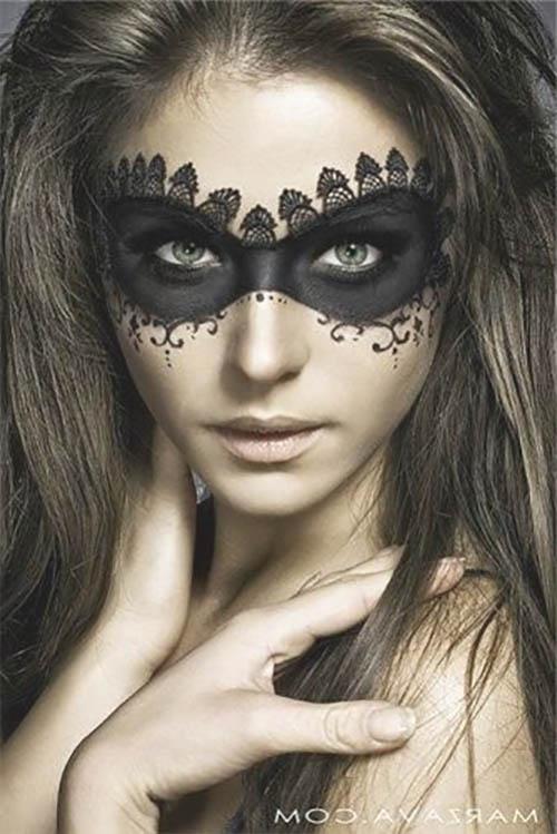 brujas maquillaje halloween