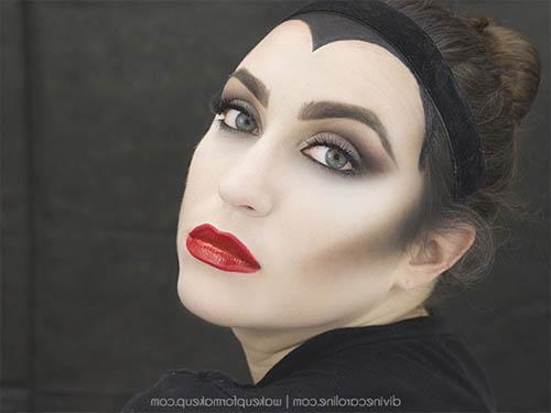 Maquillaje de halloween de miedo