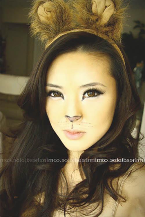 maquillaje de halloween de mujer