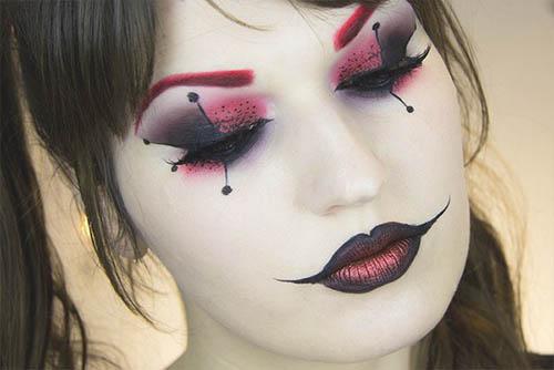 pintura maquillaje halloween