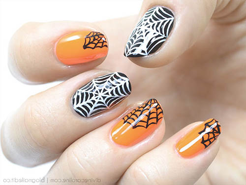 uñas ideas halloween