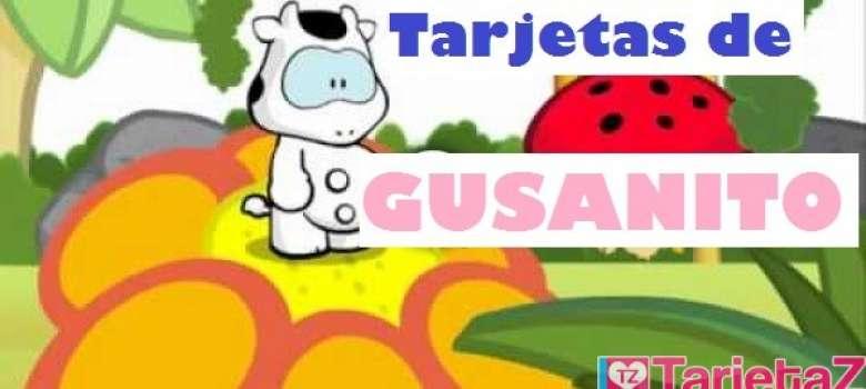 Tarjetas de Gusanito