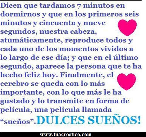 DULCES SUEÑOS 2