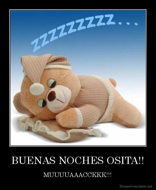 desmotivaciones.mx_BUENAS-NOCHES-OSITA-MUUUUAAACCKKK_138621553421