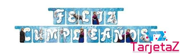 felicidades frozen