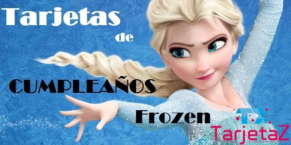 Tarjetas De Cumpleaños Frozen Tarjetaz