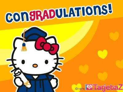 graduacion kitty