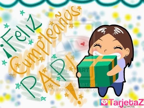 Tarjetas De Cumpleaños Para Papá Tarjetaz