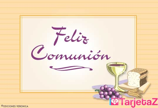 tarjetas-postales-postal-de-feliz-comunion--000941011