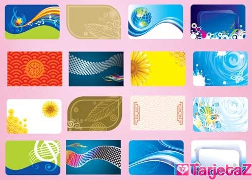 moldes para tarjetas de presentacion