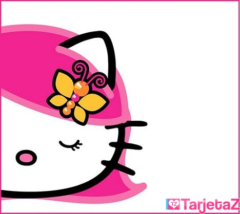 tarjetas de hello kitty