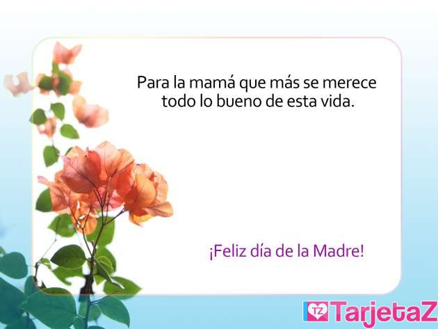 Tarjetas Para El Día De La Madre Tarjetaz