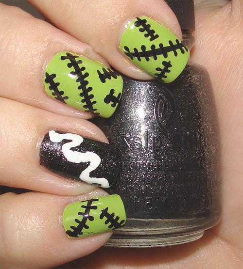 como pintarse las uñas en hallowee