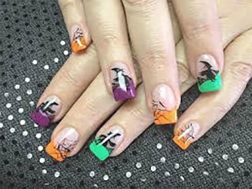 Halloween uñas