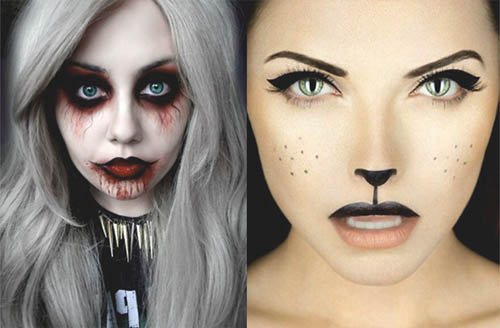 ejemplos de maquillaje para halloween