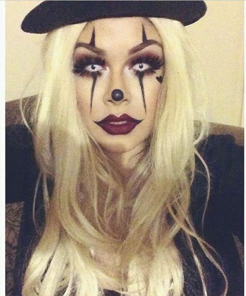zombi maquillaje rápido