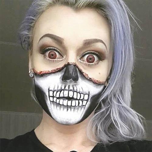 maquillaje de halloween mujer