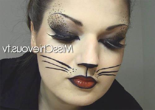 como pintarse la cara en halloween