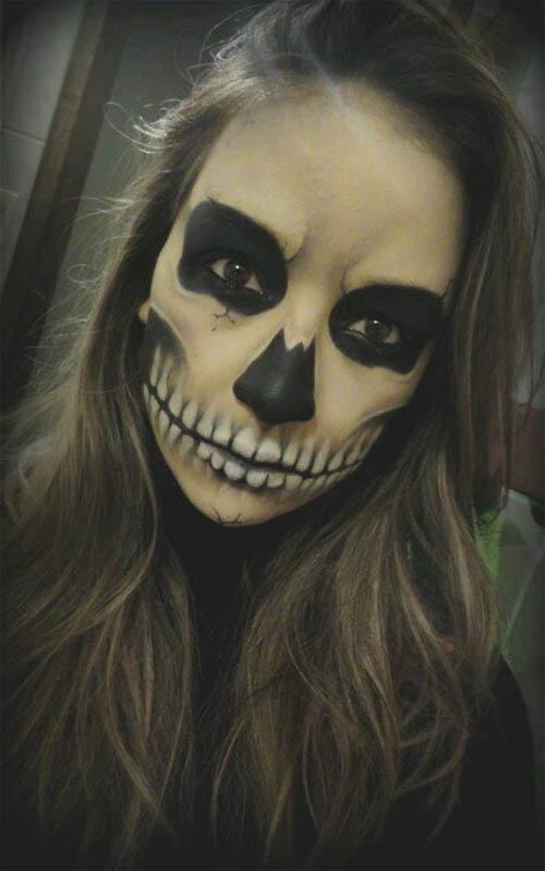 ¿maquillaje de halloween para chica